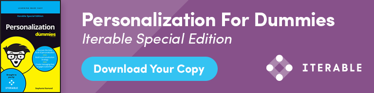 Download the personalization for dummies e-book