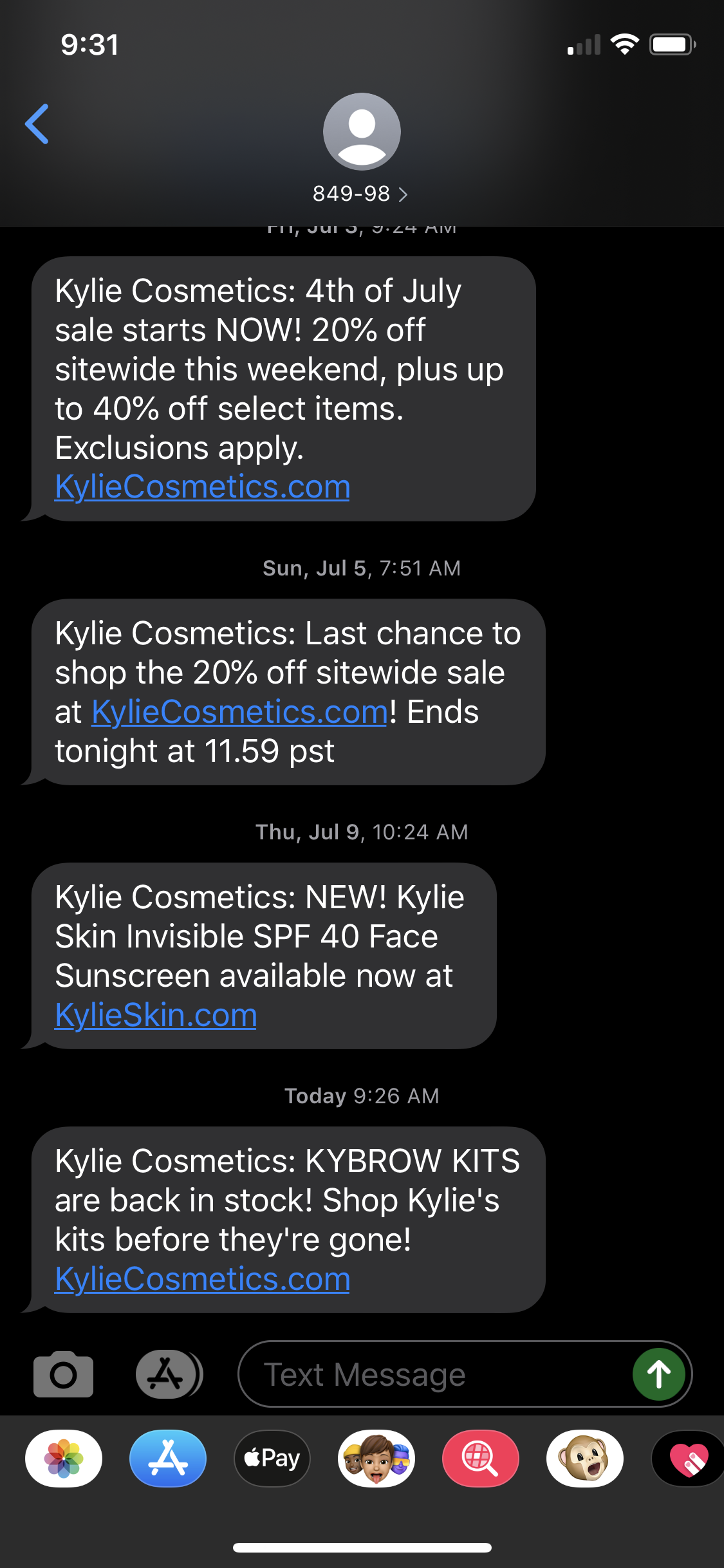 Kylie Domain Support