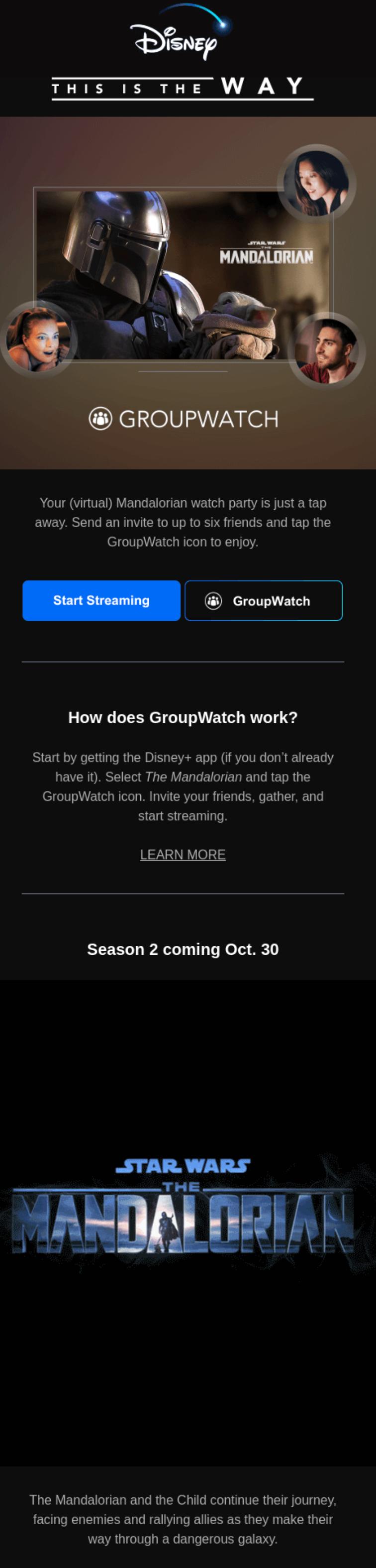 Disney+ GroupWatch Media Trend
